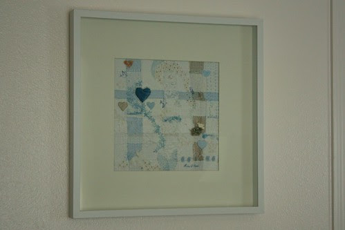 Gentle Blue Dreams Framed