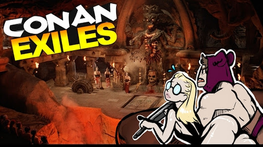 conan exiles how to go to the lava