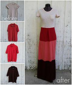 how to make a colorblock dress by KristinaJ., via Flickr