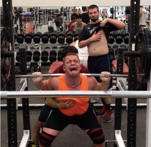 Απερίγραπτες στιγμές στο γυμναστήριο (10)