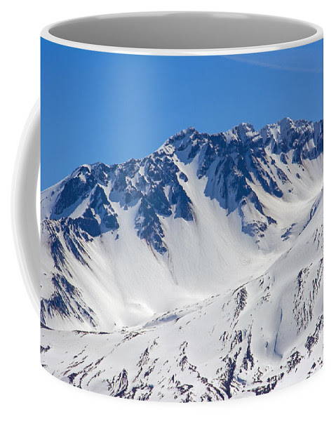 The Crater Of Saint Helens Coffee Mug