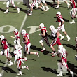 Jack Hoffman with a 69 yard touchdown in the 2013 Nebraska Spring Game