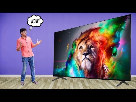 """Sony Bravia XR A80J 65"""" 4K OLED Smart TV Unboxing & Full Review 