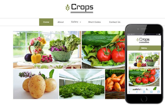 Crops a Agriculture Category Flat Bootstrap Responsive Web Template by w3layouts