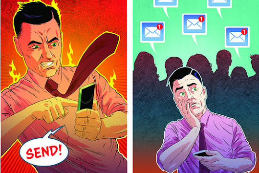 Don't Hit Send: Angry Emails Just Make You Angrier - WSJ