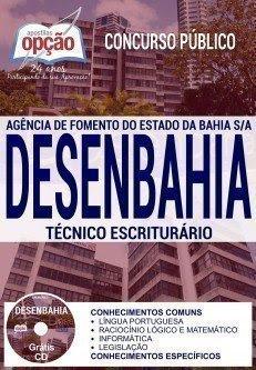 Apostila Técnico Escriturário - concurso Desenbahia 2017