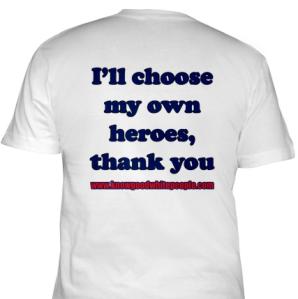 Back of James and Lucretia Mott T-shirt