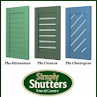 Simply Shutters unveil three brand new styles in the Town & Country Synthetic Range.