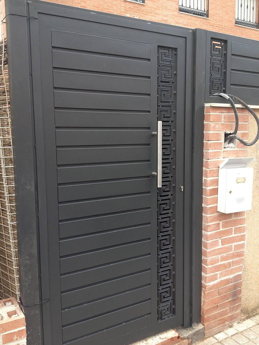 C mo decorar la casa puertas de hierro para exterior - Mejor pintura para hierro exterior ...