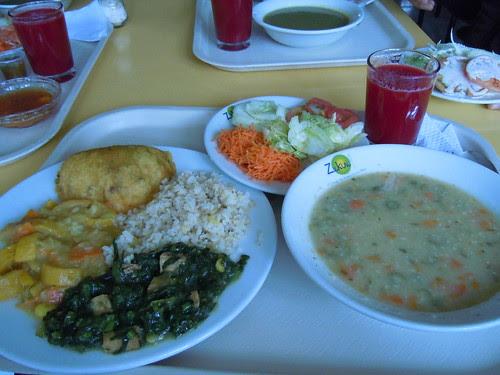 Lunch plate @ Zukini