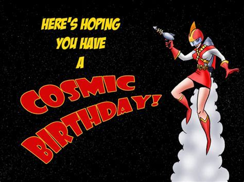 Cosmic Birthday. Free For Kids eCards, Greeting Cards