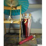 Wedding Star 9167-05 Paper Parasol with Bamboo Boning- Pastel Pink