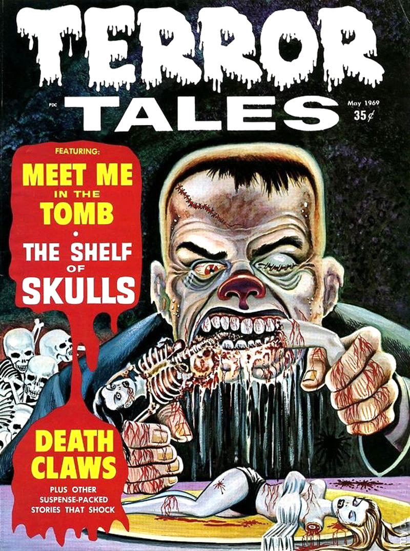 Terror Tales Vol. 01 #8 (Eerie Publications, 1969)
