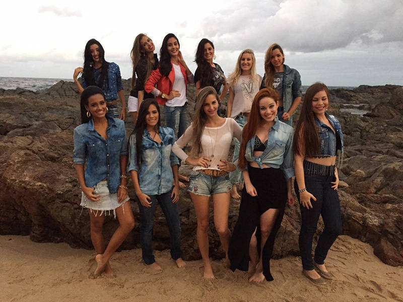 Beleza em disputa: conheça as 12 candidatas que concorrem ao título de Miss Bahia Latina