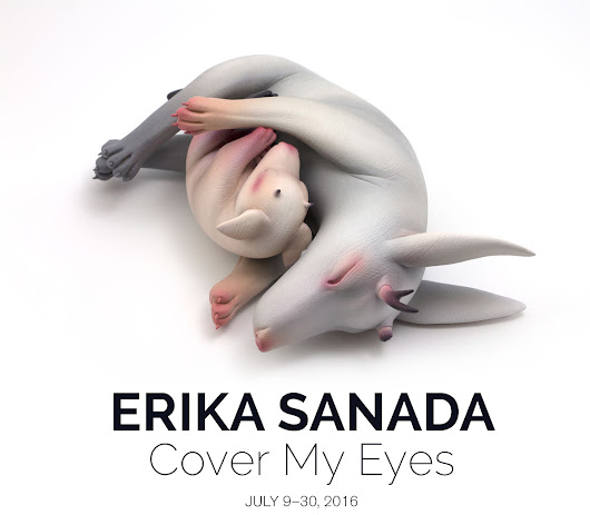 Erika Sanada's 'Cover My Eyes' and A•Chroma Group Show—Opening Saturday!