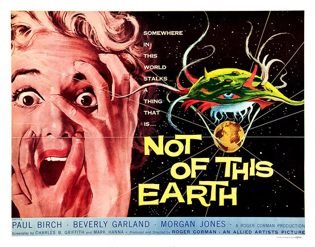 Albert Kallis - Not of this Earth (Allied Artists, 1957) Half Sheet