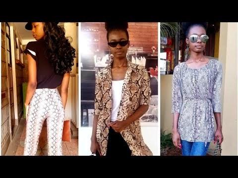 How To Style Snakeprint Very Easily