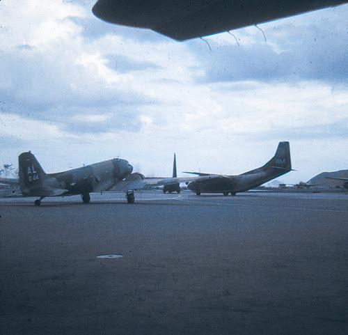 Aircraft at base