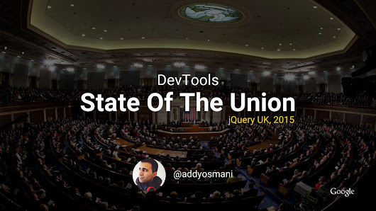 DevTools: State Of The Union 2015