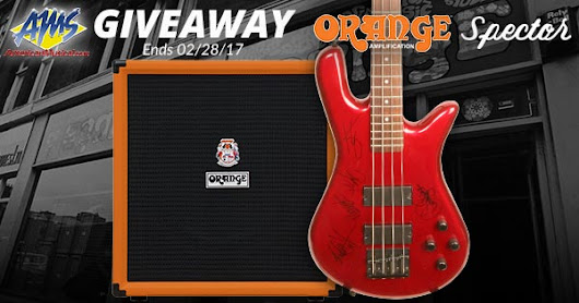 Pop Evil Spector/Orange Bass Amp Giveaway - Enter Now!