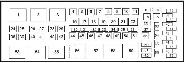 2008 F250 Fuse Box Diagram