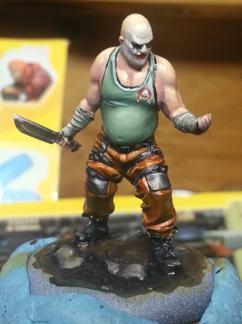 Weekly WIP 2: Joker Knife Clown - The General's Tent