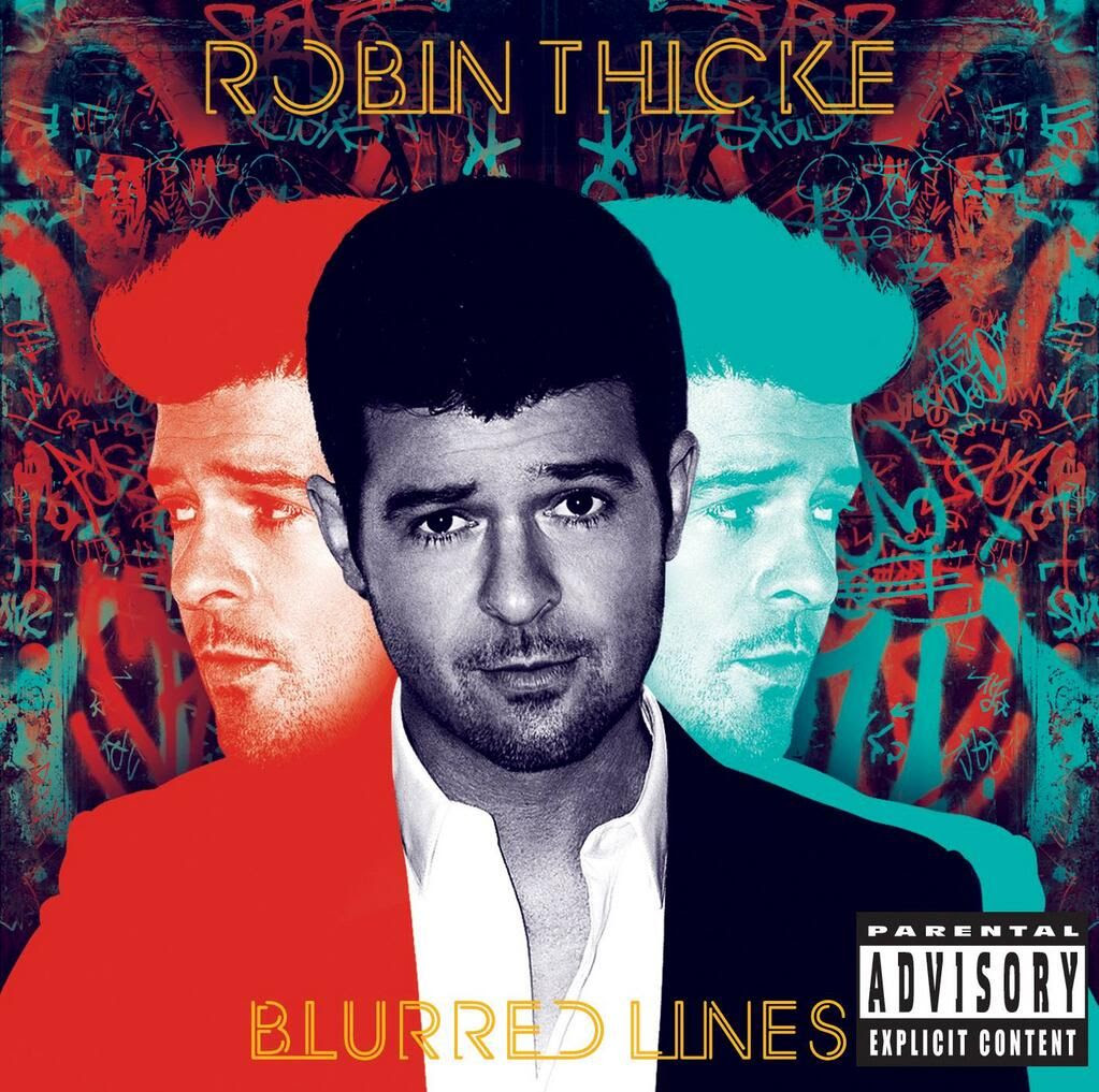 Robin Thicke : Blurred Lines (Album Cover) photo blurred-lines-cover.jpg