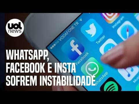 Pane geral - Plataformas do Facebook, Whats e Insta passam por instabilidade