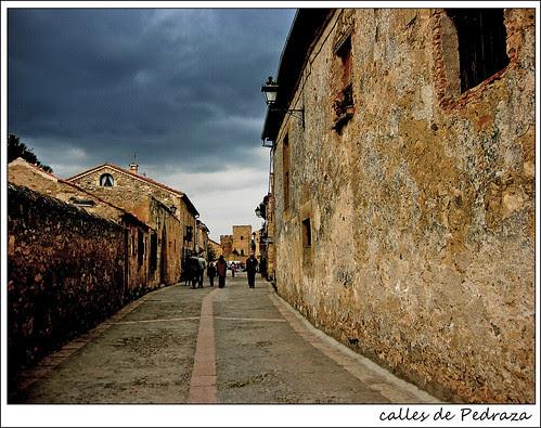 Calles de Pedraza. Segovia