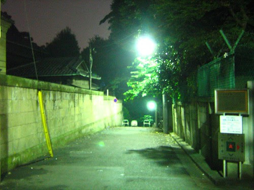 Late night solitary walk 1