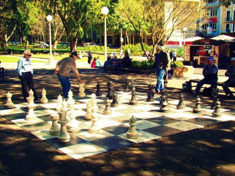 Un poco de ajedrez