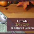 Oneida flatware, silverware - Oneida Discount Outlet