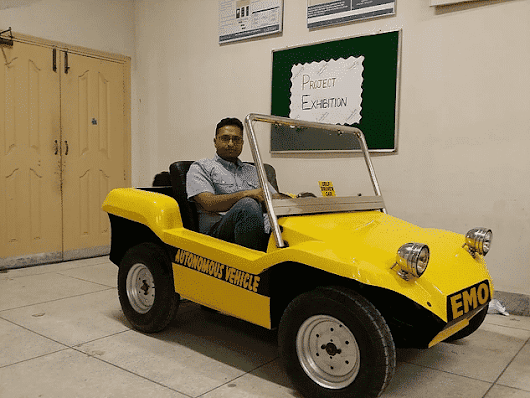 MUST Students Launch Pakistan's First Self-Driving Car