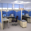 Space Efficient Work Stations | 90 Degree Office Concepts