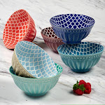 "Certified International Oxford 6.25"" Bowls Set of 6"