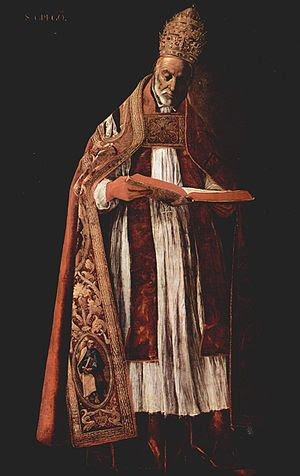 Pope St. Gregory the Great encouraged the prac...