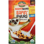 Envirokidz Leapin' Lemurs Cereal - Peanut Butter and Chocolate - 10 Ounce - PACK OF 12