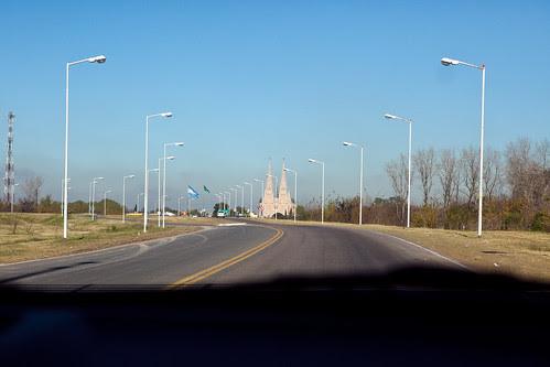 church from afar