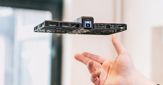 Hover is a book-shaped selfie drone you just unfold and toss in the air