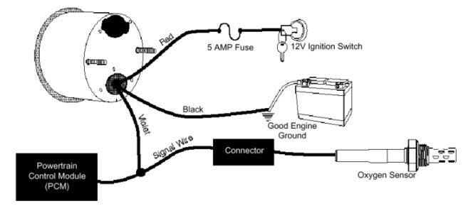 Autometer Fuel Gauge Wiring Diagram