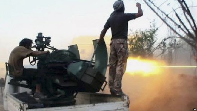 Al-Nusra fighters. Photo: July 2015
