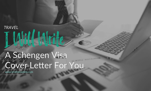 I Will Write a Schengen Visa Cover Letter For You