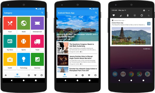 15 Android News App Templates with Source Code - Tech Buzz Online