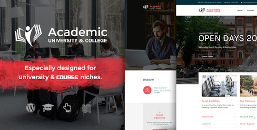 Academic - Education Theme For WordPress