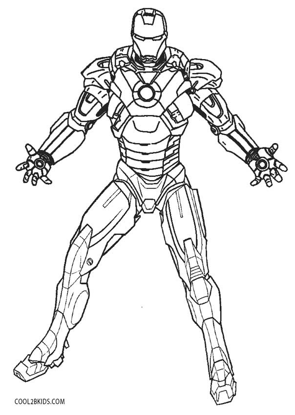 Hulkbuster Coloring Pages at GetColorings.com | Free ...