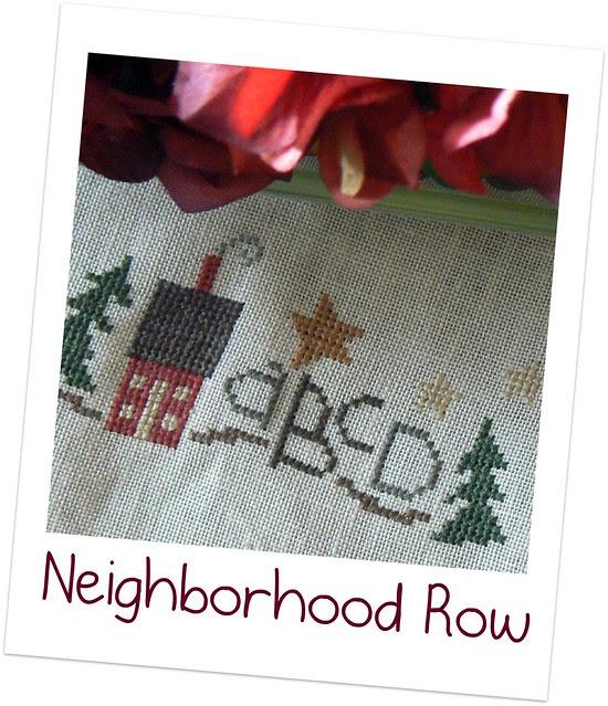 Neighborhood Row .- 1