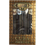 MEN 4 PIECE VARIETY-PRESTIGE SET-INCLUDES CLASSIC, BLACK, PLATINUM & LEGACY AND ALL ARE EDT SPRAY 1.17 OZ CUBA VARIETY by Cuba MEN / casual
