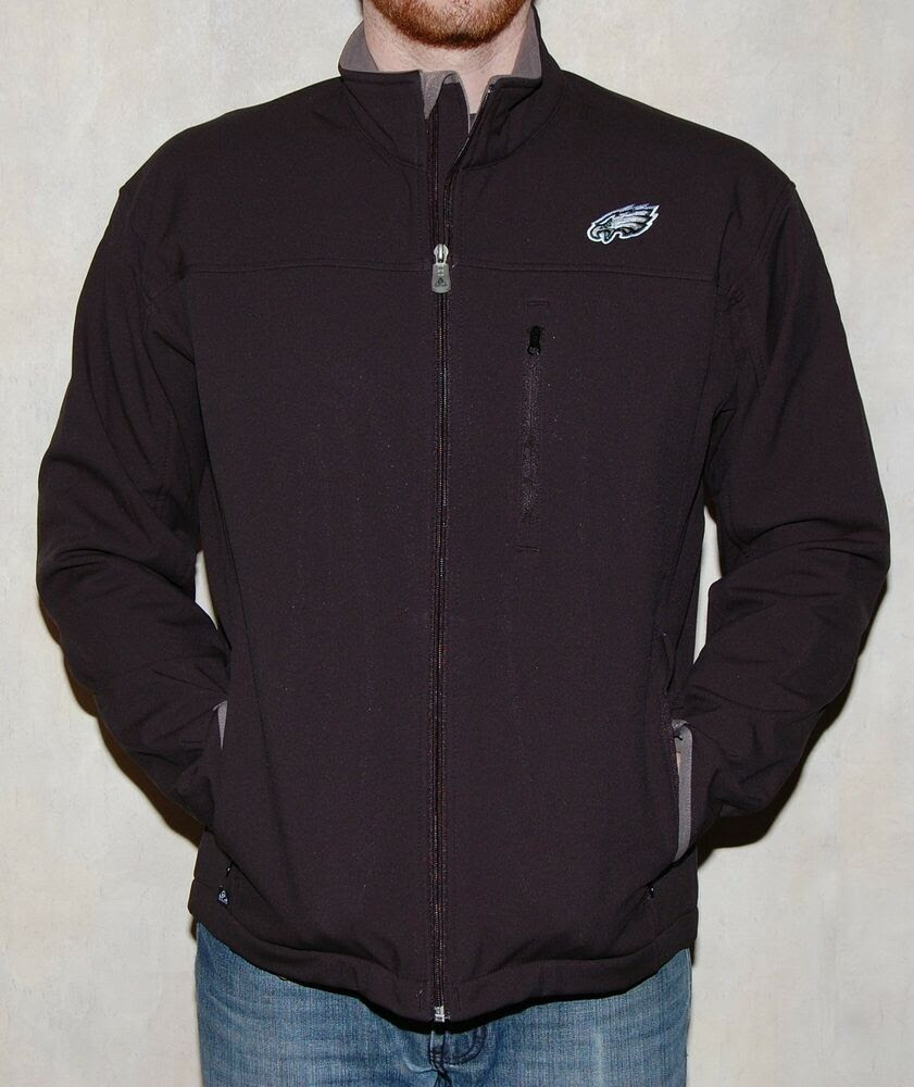 Mens Philadelphia Eagles NFL Apparel All Weather Softshell Jacket NWT M  eBay