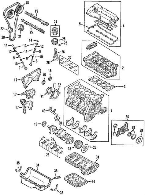 1999-2003 Mazda Oil Seal Retainer FS01-11-310A | QuickParts