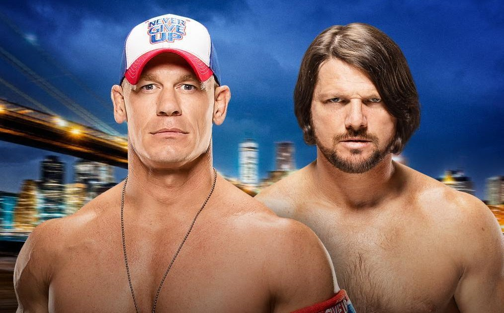 John Cena Vs Aj Styles And The Best Wwe Matches For Week